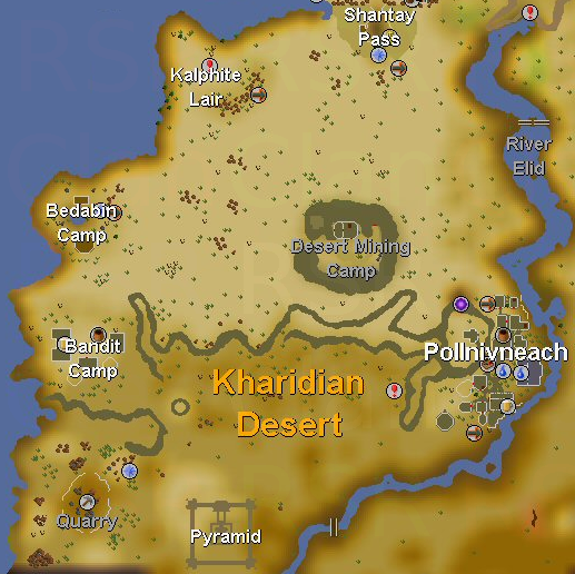 osrs how to get to pollnivneach